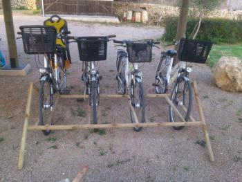 Fahrräder für die Feriengäste