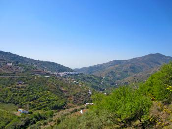 Blick auf Andalusien