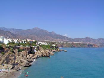Nerja, Strand und Küste