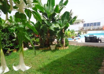Garten der Finca und Pool