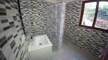 Dusche im Bad Gartenhaus