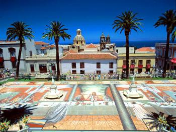 Rathausplatz von La Orotava