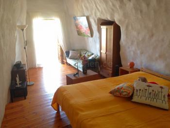 Schlafzimmer in den Felshöhlen
