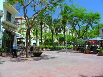 Placa del Parc in Ibiza-Stadt